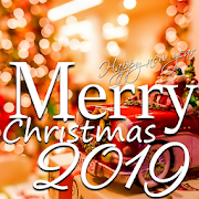 Merry Christmas Greeting and Happy New Year 2019
