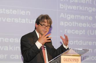 Photo: Uitreiking van de Galenus Geneesmiddelenprijs en Galenus Researchprijs 2008 in Leiden foto © Bart Versteeg