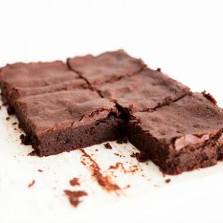 5-Ingredient Flourless Brownies.