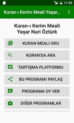 Kuran Meali Y. N. Öztürk - screenshot