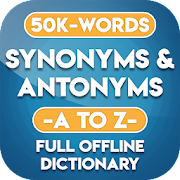 Synonyms and Antonyms App Offline in English
