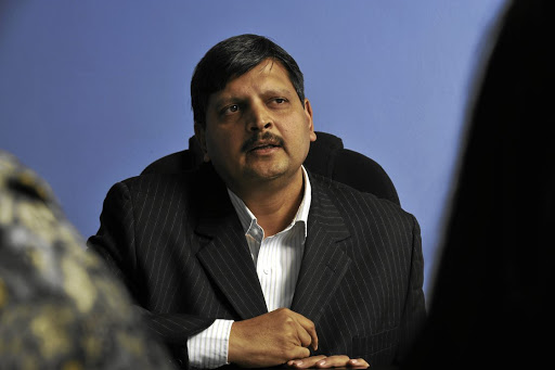 Precipitate rise: Atul Gupta entered the list of SA's 10 richest people in 2016, becoming the country's wealthiest black businessman, according to Business Times. Gupta, with personal wealth valued at R10bn, was ranked seventh on the list, which is compiled by Who Owns Whom. Picture: Robert Tshabalala