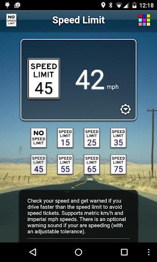Speed Limit Free screenshot 1