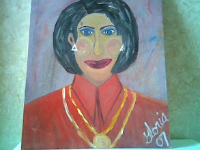 Photo: Greek Lady, oil on canvas, one of ethnic paintings, 16 X 20, painted at Denver Co 80203