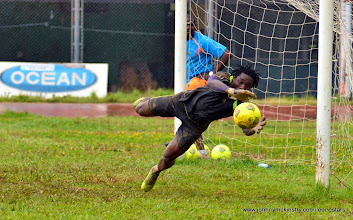 Photo: Solomon Zombo Morris   [Training Camp ahead of Leone Stars v Seychelles Game in Freetown on 19 July 2014 (Pic: Darren McKinstry)]