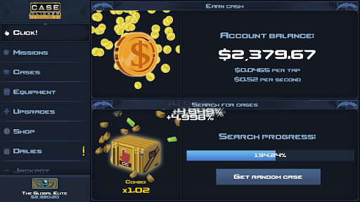 Case Clicker 2 - Market Update! 2.1.8 screenshots 3