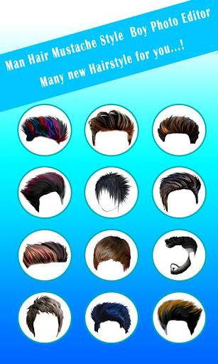 Hairstyles for Men screenshot 12