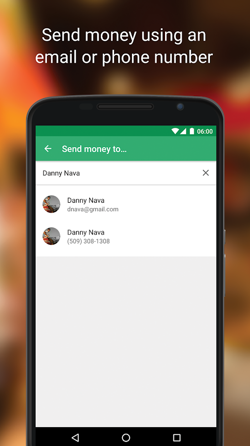 Google Wallet- screenshot