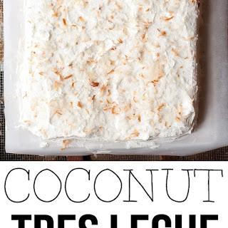 Coconut Tres Leche Cake