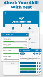 TOEIC Test, Practice Test Pro Screenshot