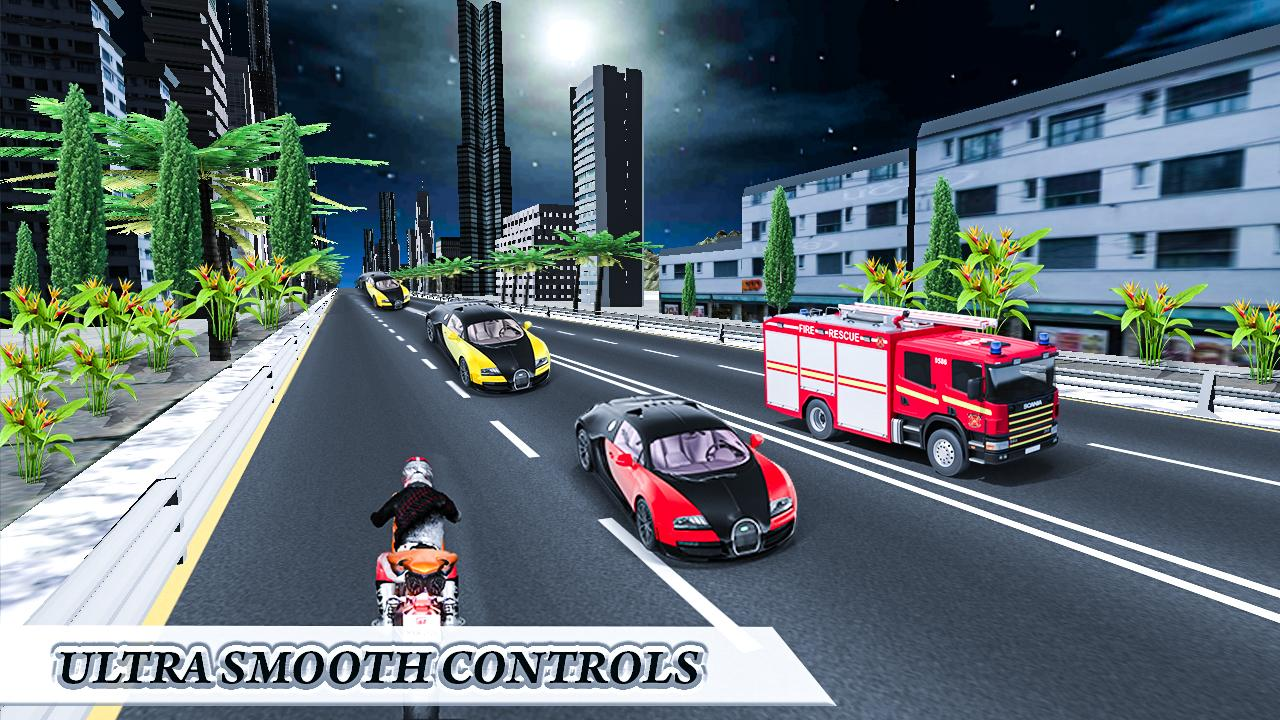 Traffic Highway Race Rider- screenshot