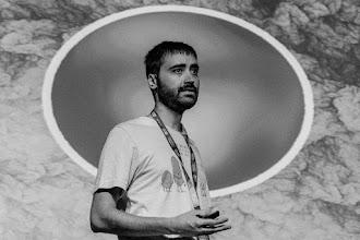 Photo: Nahúm @nchazarra, primer ciudadano plutoniano en ser santificado en la Tierra.