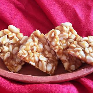 Chikki (Peanut & Cashew Nut Brittle).
