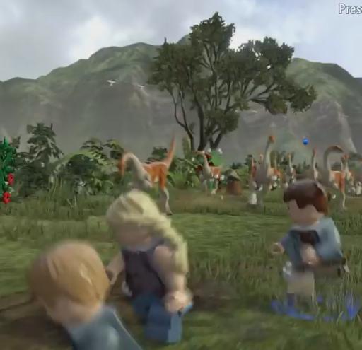 Tips LEGO Jurassic World