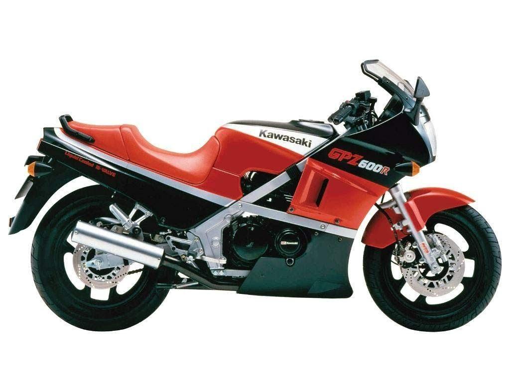 Kawasaki GPZ 600 ninja -manual-taller-despiece-mecanica