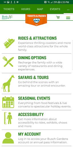 Busch Gardens Discovery Guide 6.1 screenshots 5
