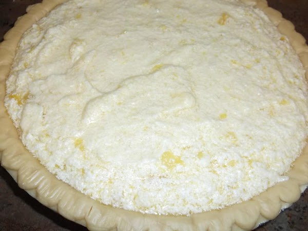 Pour into thawed pie shell.