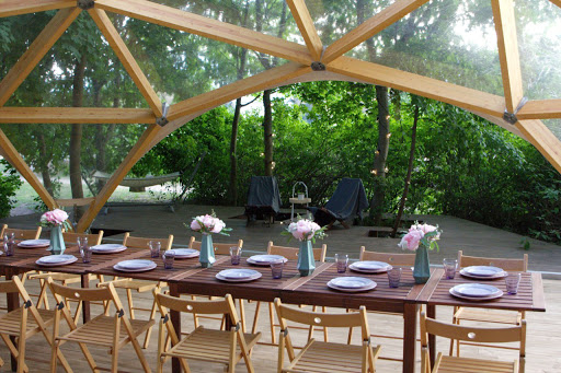 Площадка для свадьбы у воды «Шатер «Сфера»» 2