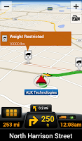 Screenshot of CoPilot Truck USA & CAN - GPS