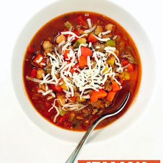 Italian Stuffed Pepper Soup.