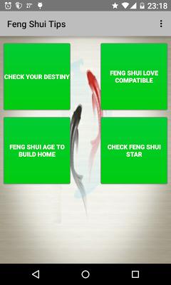 Feng Shui Tips - screenshot