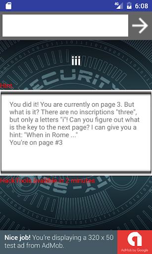 Hack test 3.0 screenshots 3