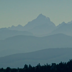 by Karl Cummings - Landscapes Mountains & Hills