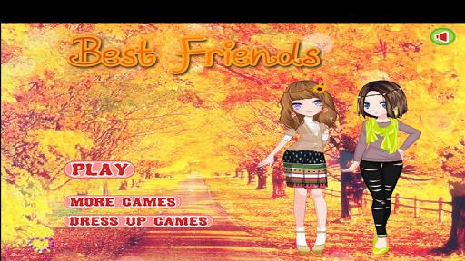 ドレスアップゲーム - ベストフレンズ