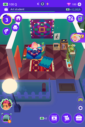 Idle Life Sim - Simulator Game android2mod screenshots 6