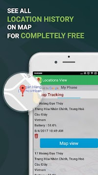 Phone Tracker By Number, Family & Friend Locator APK screenshot thumbnail 3