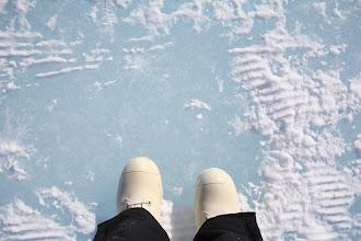 Photo: Ice shelf