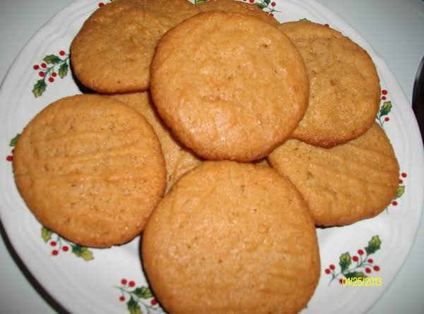 Ruby's Peanut Butter Cookies Recipe