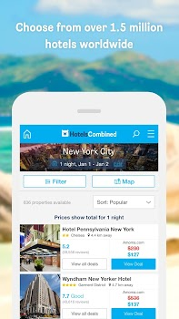 Hotels Combined - Cheap deals