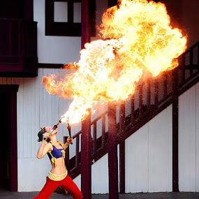 Breath of Fire by Brandon Rechten - People Fine Art ( pwcfire )