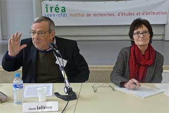 Photo: Conférence n°2 « La laïcité dans l'école » par : Claude Lelièvre, professeur émérite (histoire de l'éducation) à l'université Paris 5