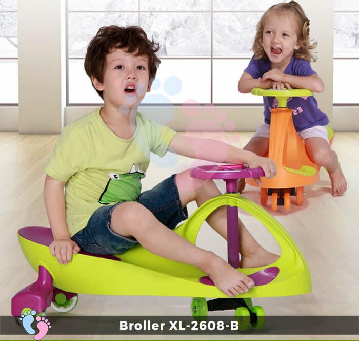 Xe lắc tay trẻ em Broller XL-2608B 2