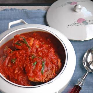 Pork Rib Tomato Sauce