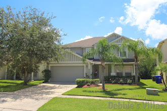 Private Orlando villa to rent, Kissimmee community, close to Disney, private pool with scenic view