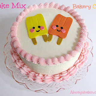 Cake Mix Bakery Cake