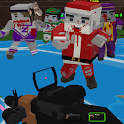 Blocky Combat Strike Zombie Survival icon
