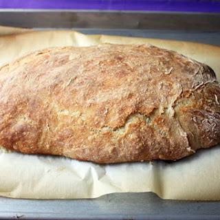 No Knead Ciabatta Bread.
