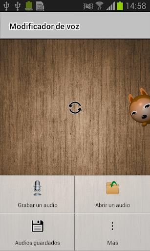 Modificador de voz screenshot 1
