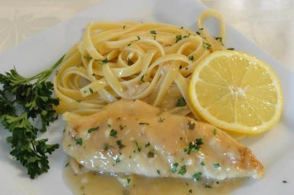 Chicken Piccata And Pasta Recipe