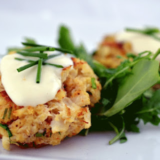 Crabcakes with Lemon Aioli