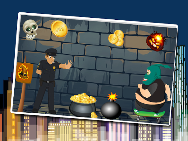 android Survival subway : Robber & cop Screenshot 0