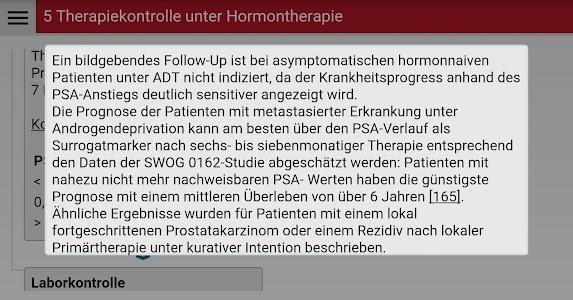 Prostatafibel screenshot 2