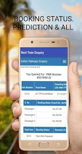 Pnr status irctc /train pnr status/indian railway App Download For Android 3