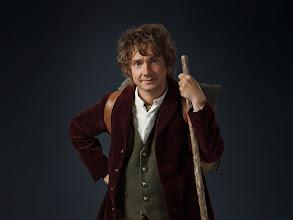 Photo: Martin Freeman is Bilbo Baggins.