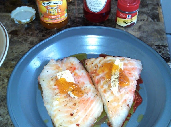 Preheat oven to 425. Place fish, and the marinade juices, in baking dish. ...