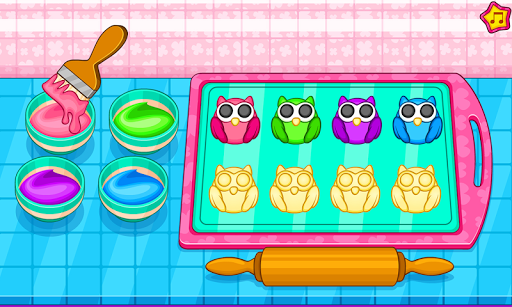 Cook owl cookies for kids 1.0.2 screenshots 4